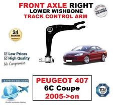FRONT AXLE RIGHT LOWER WISHBONE CONTROL ARM for PEUGEOT 407 6C Coupe 2005->on