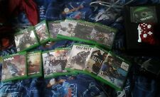 Xbox One & 21 Games Lot with 2 Controllers