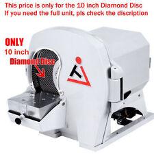 5Pcs Dental Lab Abrasive Diamond Disc 10 inch for Wet Model Grinder Trimmer