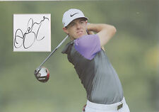 RORY McILROY Signed 12x8 Photo Display GOLF Legend US MASTERS RYDER CUP COA