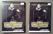 NEW! Combat Street Survival DVD's - Vol. 1 & 2  - Alonzo Cheatham - Gun Knife De