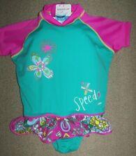 fca0285a00b Speedo Infant Kids Girls Swim Float Pink Teal Swimsuit M/L 33-45 lbs