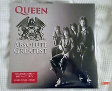 QUEEN ABSOLUTE GREATEST SILVER 2lp vinyl LP Tchibo Limited edition sealed MINT