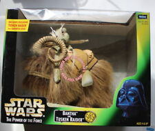 Star Wars POTF exclusive Tusken Raider  and BANTHA MISB 1998 ROTJ  118