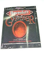 RAVENLOFT GAZETTEER VOLUME VOL III 3 D&D SC SWORD & SORCERY 15022 MINT