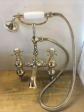 Refurbished Heritage Brass Bath Shower Mixer Taps - Great Quality Stunning  T17