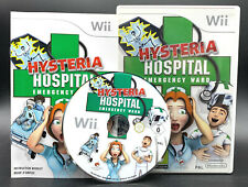 "NINTENDO WII SPIEL"" HYSTERIA HOSPITAL EMERGENCY WARD "" KOMPLETT"