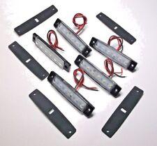 5 Large BBT 12 volt Waterproof White LED Lights