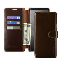 For Samsung Galaxy Note 9 Case VRS®[Layered Dandy]Slim Leather Card Wallet Cover