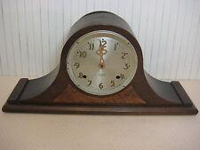 """Antique Gilbert Tambour Mantle Clock, 21"""" Wide X 9 1/2"""" Tall X 5"""" Deep, 6 Lbs"""