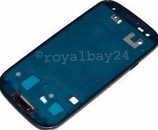 Samsung Galaxy S3 I9300 Marco Marco central + Botón Negro Pantalla LCD Frame