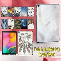 Fit Samsung Galaxy Tab A 8.0 (2019) T290 T295 Tablet Hard Shell Case Cover +Pen