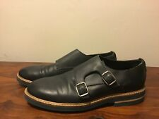 Topman Dark Navy Leather shoes size 42 Good condition