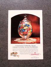 I222-Advertising Pubblicità-1990- TORRONCINI CONDORELLI