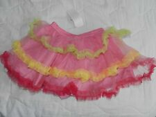 NWT Gymboree Birthday Shop Pink Multi-Tiered Tutu w/Diaper Cover 3 3T