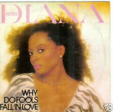 45 TOURS--DIANA ROSS--WHY DO FOOLS FALL IN LOVE--1981