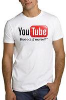 YouTube Logo Internet Video T Shirt *ALL SIZES & NEW*
