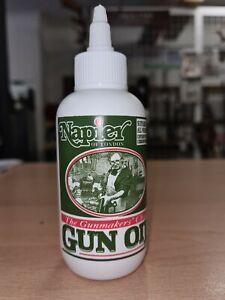 Napier Gun Oil 125ml Dropper Bottle Gun Cleaner Lubricant / Dog Scent Training