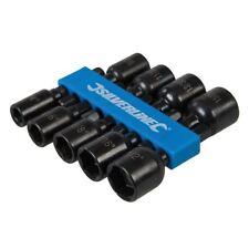 "Conjunto DE Tuerca Magnética Hexagonal De 9Pc 1/4""-1/2"" Socket Brocas de potencia imperial CRV"