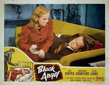 BLACK ANGEL 1946 Dan Duryea, June Vincent CORNELL WOOLRICH LOBBY CARD #7