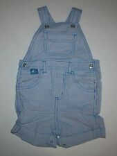 New Gymboree Hickory Striped Summer Short Overalls 18-24m NWT Hippos and Blues
