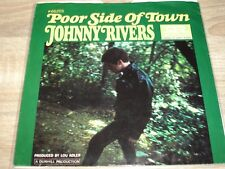 """SP JOHNNY RIVERS """" POOR SIDE OF TOWN / A MAN CAN CRY """""""