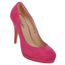 Women's Suede Casual Heels