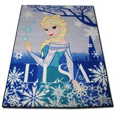 Disney Frozen Elsa Kinder Teppich Spiel Kinderzimmer Spielteppich 133x95cm