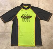 Royal Caribbean Swim Shirt Rash Guard Size Youth Medium