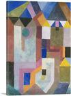 ARTCANVAS Colorful Architecture 1917 Canvas Art Print by Paul Klee