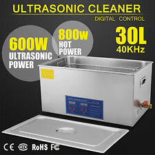 Cubeta de limpieza por ultrasonidos 30L litros / Limpiador ultrasónico+cesta