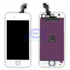 White iPhone 5S or SE Full Front Digitizer Touch Screen and LCD Assembly Display