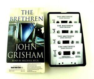 The Brethren John Grisham Michael Beck 2000 Audiobook Audio Book Cassette Tapes