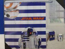 "Disney Star Wars Fabric Shower Curtain 72"" x 72""  NIP"