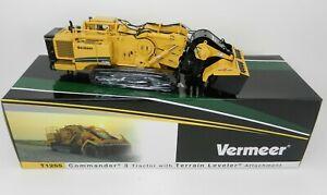 1:50 TWH *VERMEER* Model T1255 Commander 3 Tractor w/Terrain Leveler *NIB*
