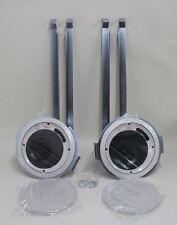 "Pair Of BNIB EXTRON SI 3CT LP System Integrator Round Ceiling Mount 4"" Speakers"