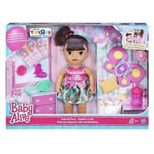Baby Alive Brianna' s Butterfly Party Brunette Playset