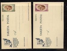 Spain   2  postal  cards  unused   1960      KL0503