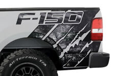 Ford F150 Rear Quarter Panel Graphic Kit Truck Bed Decal Set 2004-2008 GRUNGE