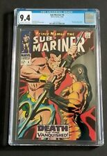 SUB-MARINER #6 • GORGEOUS CGC 9.4 OW/W PGS • 2ND TIGER SHARK • BLACK PANTHER 2?