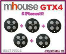 5 X Mhouse GTX4 remote controls. The new version of Mhouse TX4 / 5 pices!!!