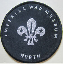 Imperial War Museum Hand Woven Badge (ID=K30M)