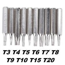 Torx Dreher mit Innenloch Set 6-tlg.-für feine Arbeiten geeignet