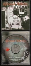 GREAT WHITE: BACK TO THE RHYTHM CD MARK KENDALL SIGNED HARD ROCK JEWEL CASE