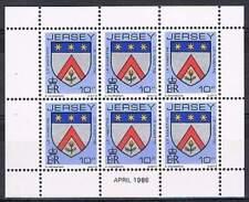 Jersey postfris 1986 MNH vel/sheet 252 - Wapenschild (S0716)
