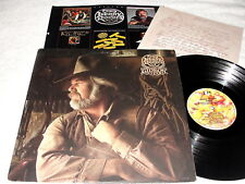 """Kenny Rogers """"Gideon"""" 1980 Country LP, VG, with Poster Insert"""
