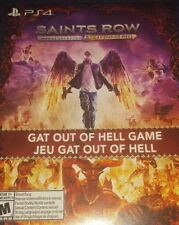PS4 Saints Row Gat Out Of Hell Full Game Download Card Only rare