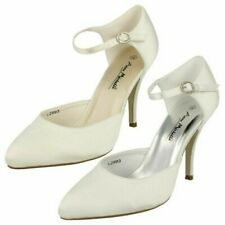 Ladies Anne Michelle High Heeled 'Wedding Shoes'