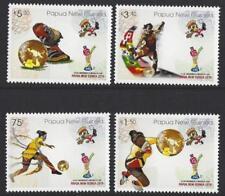 Francobolli papuani dal 1975, tema calcio