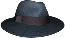PAUL SMITH 3 INCHES BRIM 100% WOOL HAT Size-M VERY RARE made in Italy